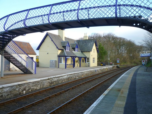 Helmsdale Station from Platform